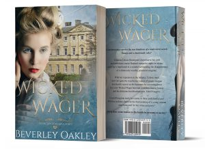 Wicked Wager book back and front