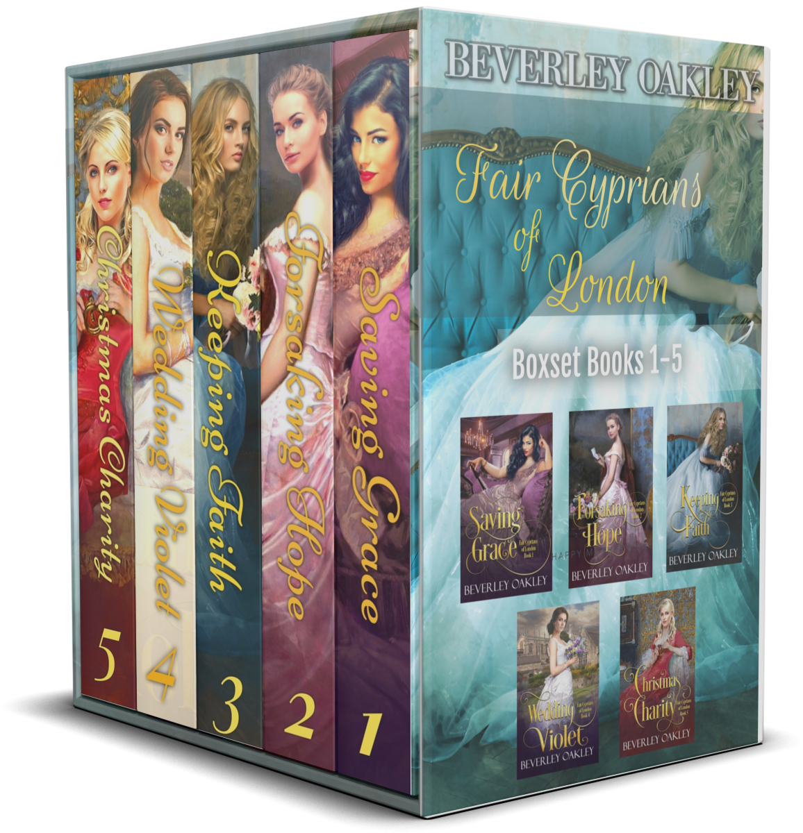 Fair Cyprians of London Boxset 1-5